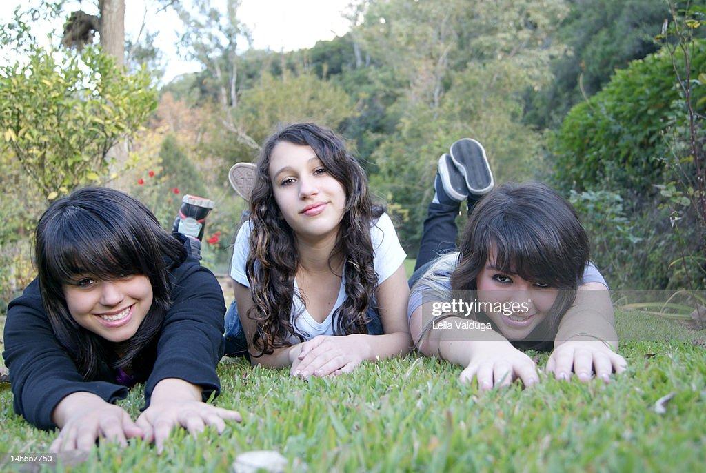 Together having fun : Stock Photo