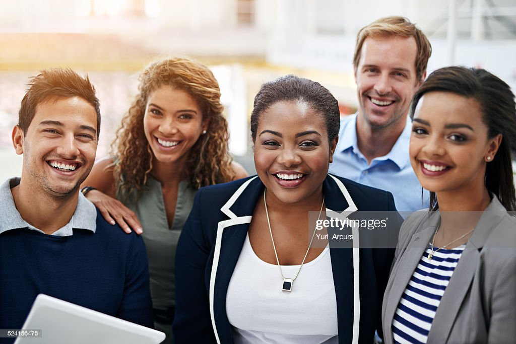 Together, success is a given : Stock Photo