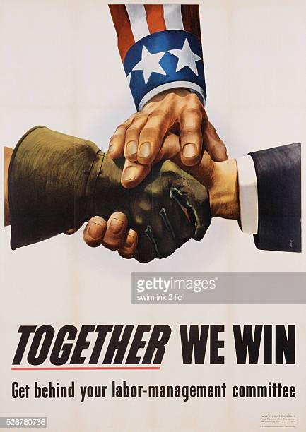 Together We Win LaborManagement Poster