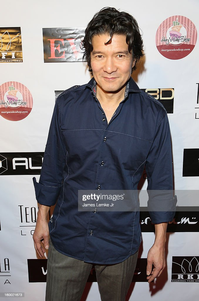 Tohoru Masamune attends the 'Vishwaroopam' premiere held at the Pacific Theaters at the Grove on January 24, 2013 in Los Angeles, California.