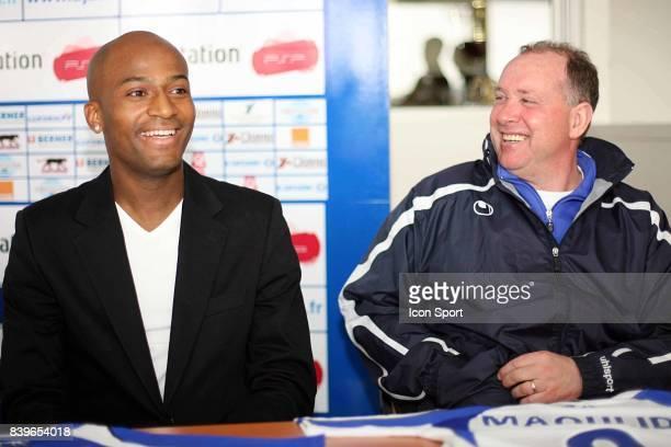 Toifilou MAOULIDA et Jean FERNANDEZ conference de Presse AJ Auxerre Football Ligue 1 Saison 2007 / 2008