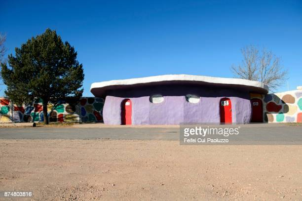 Toilet and toilet sign at Valle, Arizona, USA