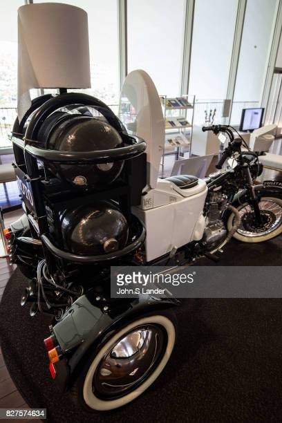 Toilet Bike Neo at Toto Toilet Museum Toto Toilet Museum Japan makes some of the world's fanciest toilets  The Toto Museum's white shiny modern...