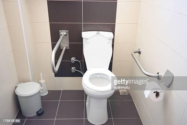 Casa de banho para pessoas com deficiências