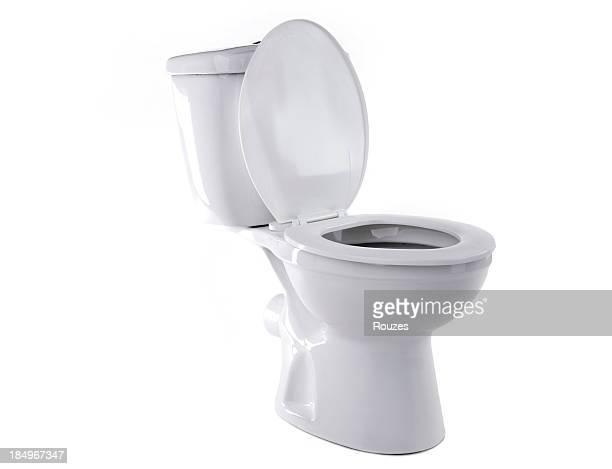 Toilette Isoliert