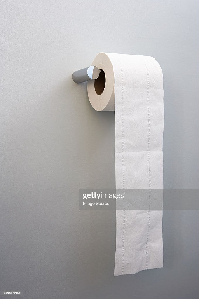 Toilet roll : Stock Photo