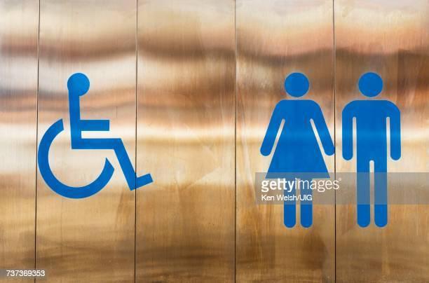 Toilet sign. Pictogram.
