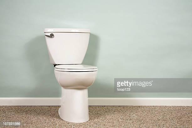Toilette mit copyspace