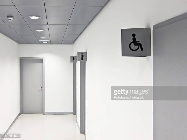 Toilets corridor