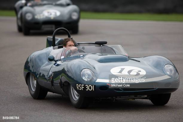 TojeiroJaguar SportsRacing Prototype during the Ecurie Ecosse Parade at Goodwood on September 8th 2017 in Chichester England