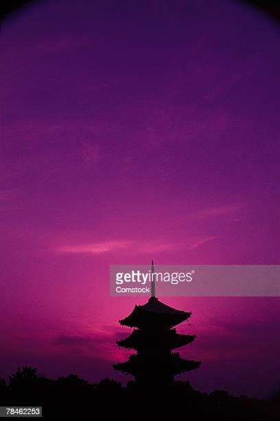 Toji Temple in Kyoto, Japan