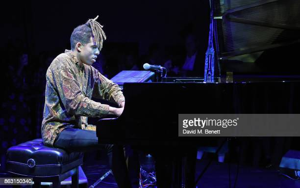 Tokio Myers attends The London Evening Standard's Progress 1000 London's Most Influential People in partnership with Citi on October 19 2017 in...