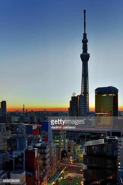 Tokyo Asakusa at sunrise