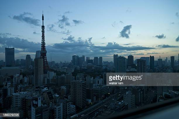 Tokyo before sunrise