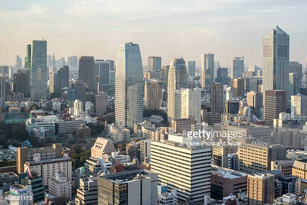 Tokyo city afternoon