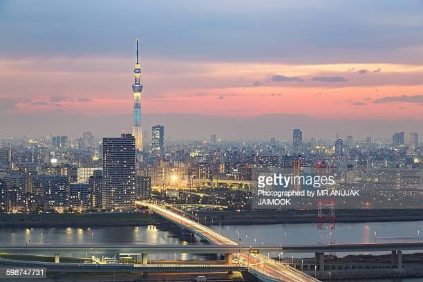 Tokyo city, Japan