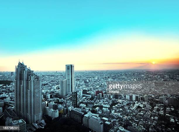 東京の街の眺め