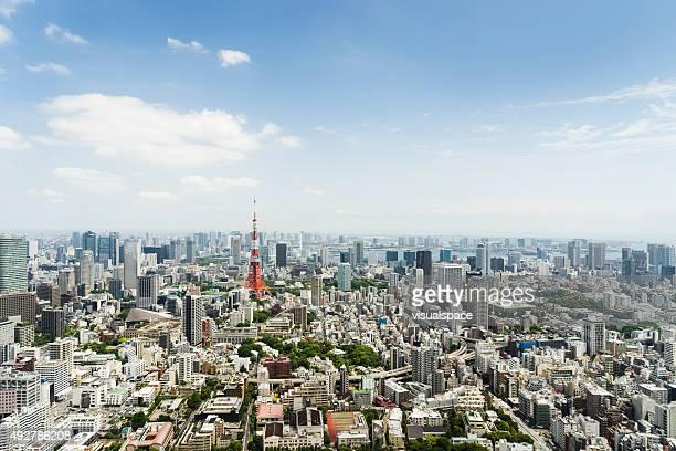 Stadtansicht von Tokio, Japan