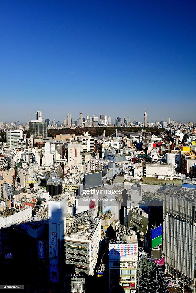 Tokyo cityscape : Stock Photo