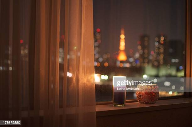 Tokyo cityscape with Tokyo tower