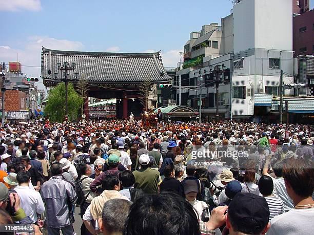 東京の群衆
