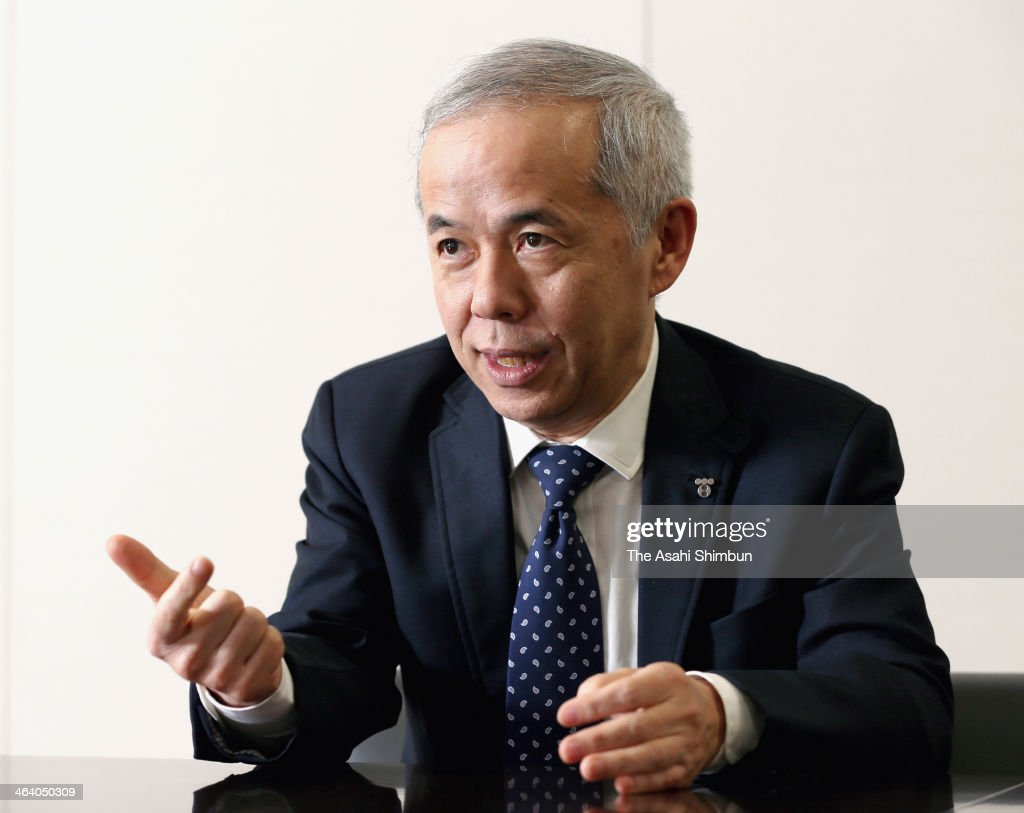 Tokyo Electric Power Co. (TEPCO) President <a gi-track='captionPersonalityLinkClicked' href=/galleries/search?phrase=Naomi+Hirose&family=editorial&specificpeople=9192758 ng-click='$event.stopPropagation()'>Naomi Hirose</a> speaks during an interview at the headquarters of TEPCO on January 18, 2014 in Tokyo, Japan. In the interview, regarding TEPCO's intention to expand its power sales from its conventional Kanto area to regions across Japan in fiscal 2014, Hirose told TEPCO plans to focus first on its existing customers' factories and offices located outside the Tokyo metropolitan area.