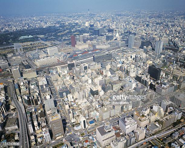 Tokyo from the air