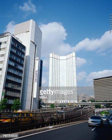 Tokyo Highway, Akasaka, Tokyo, Japan : Stock Photo