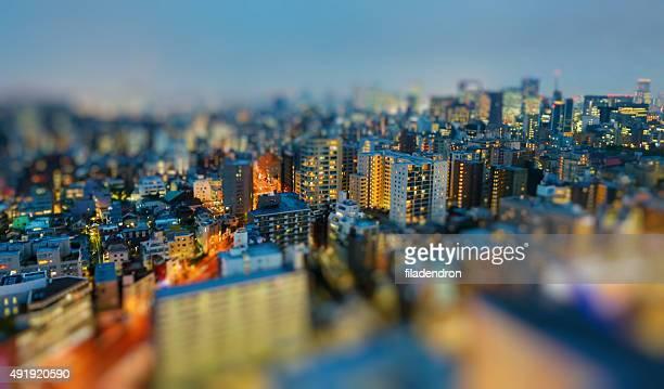 Tokyo In die Nacht