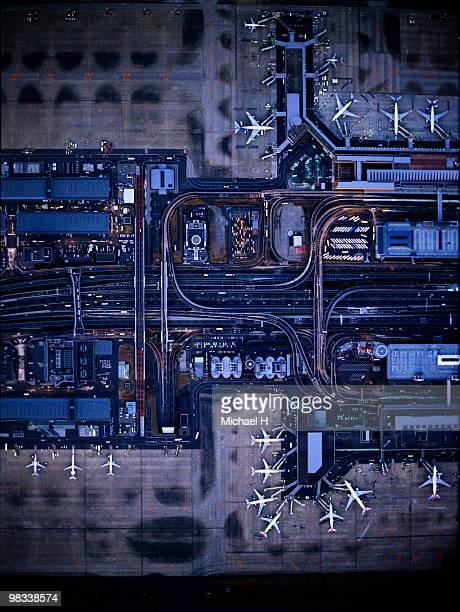 Tokyo International Airport(Haneda) aerophotograph