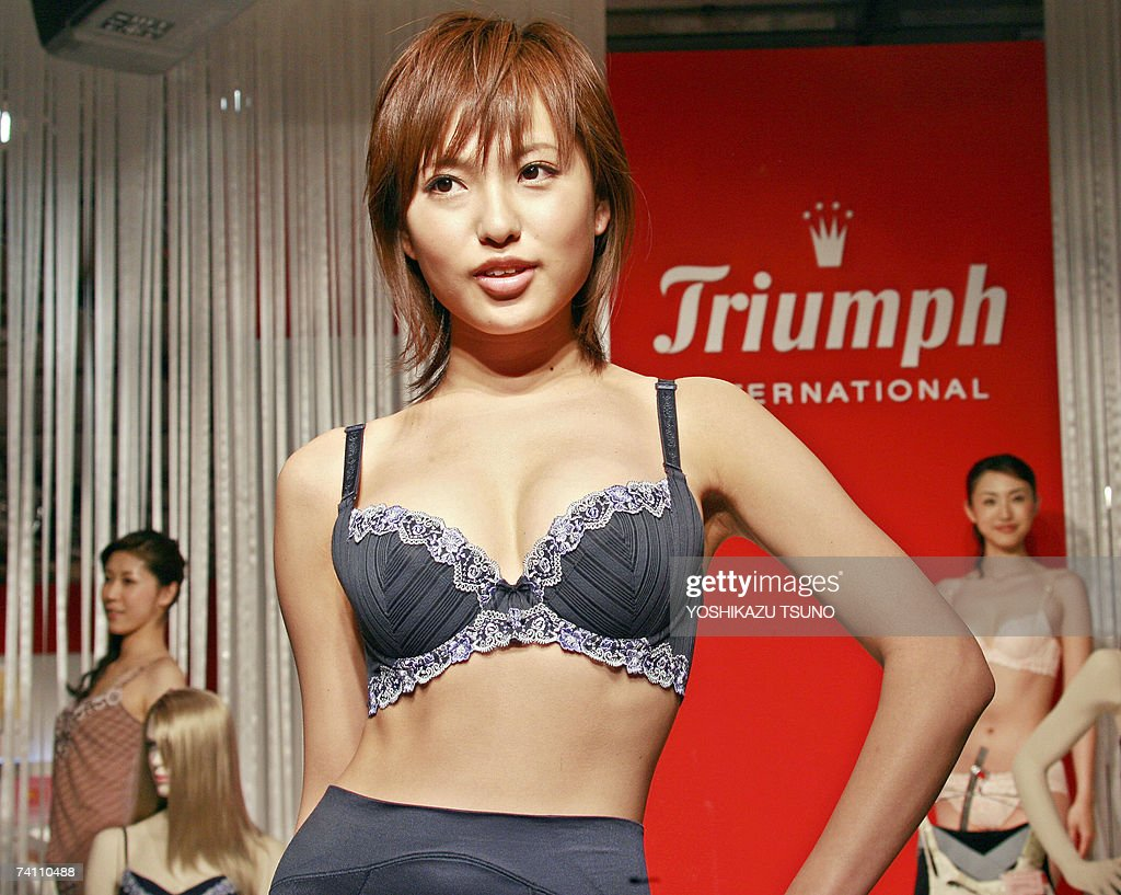 Japan's lingerie maker Triumph International Japan ...