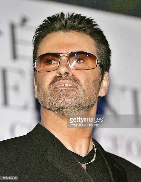 Pop star George Michael attends a press conference for his autobiographical movie 'George Michael A Different Story' at a hotel in Tokyo in Japan 15...