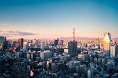 Tokyo - Japan, Urban Skyline, Japan, Tokyo Tower, Cityscape