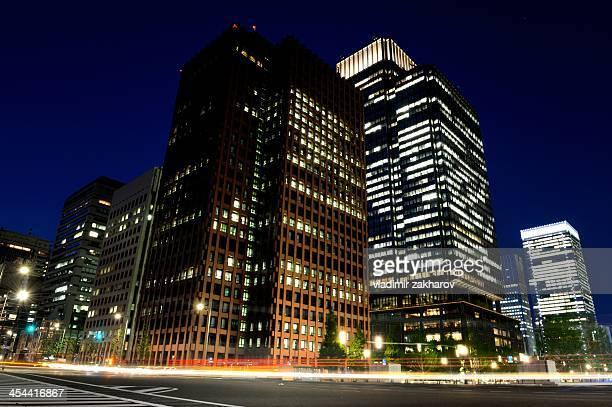 Tokyo, Marunouchi at twilight