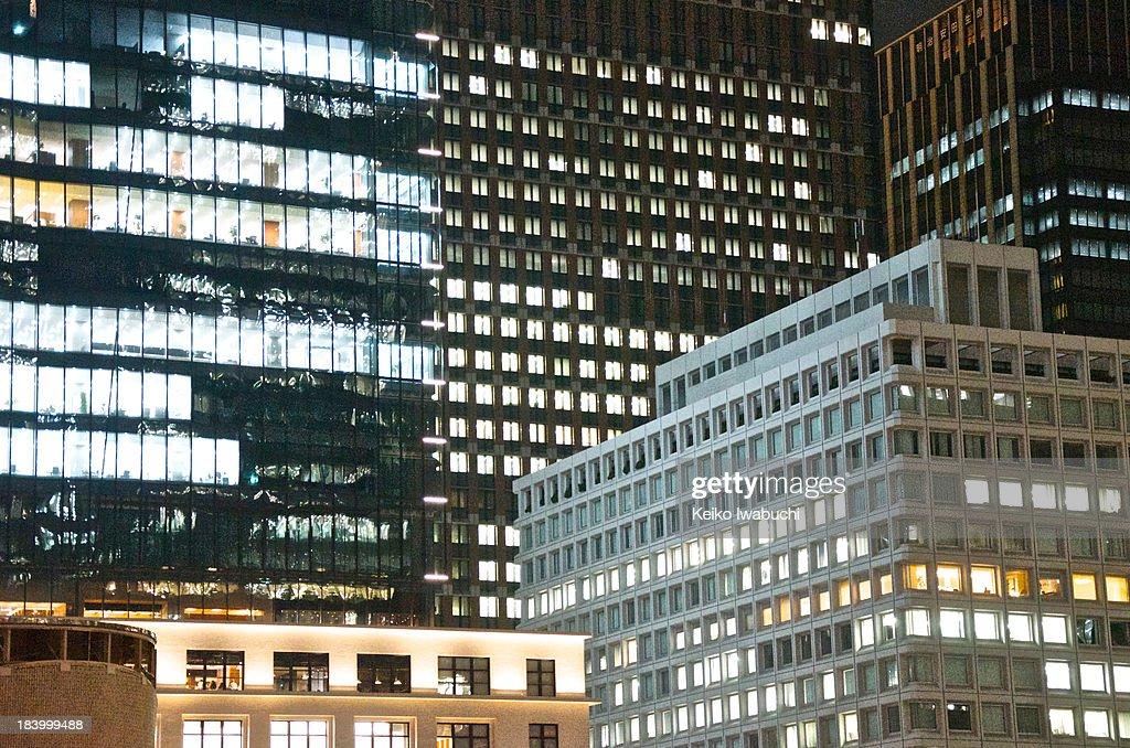 Tokyo night cityscape : Stock Photo