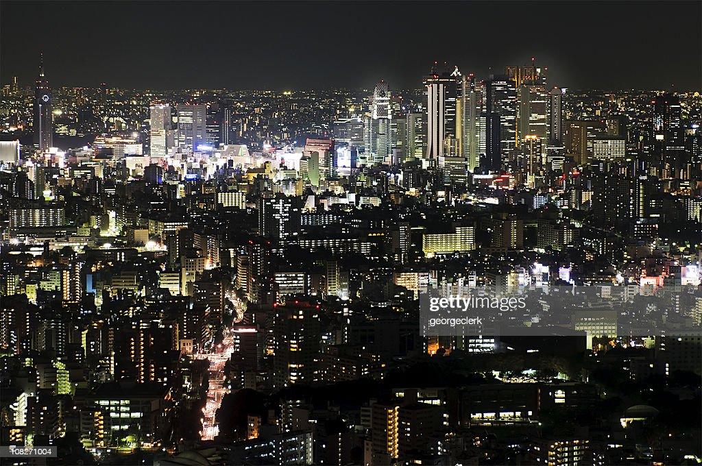 Tokyo Night : Stock Photo