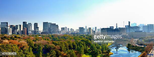 Tokyo Panorama  at sunrise