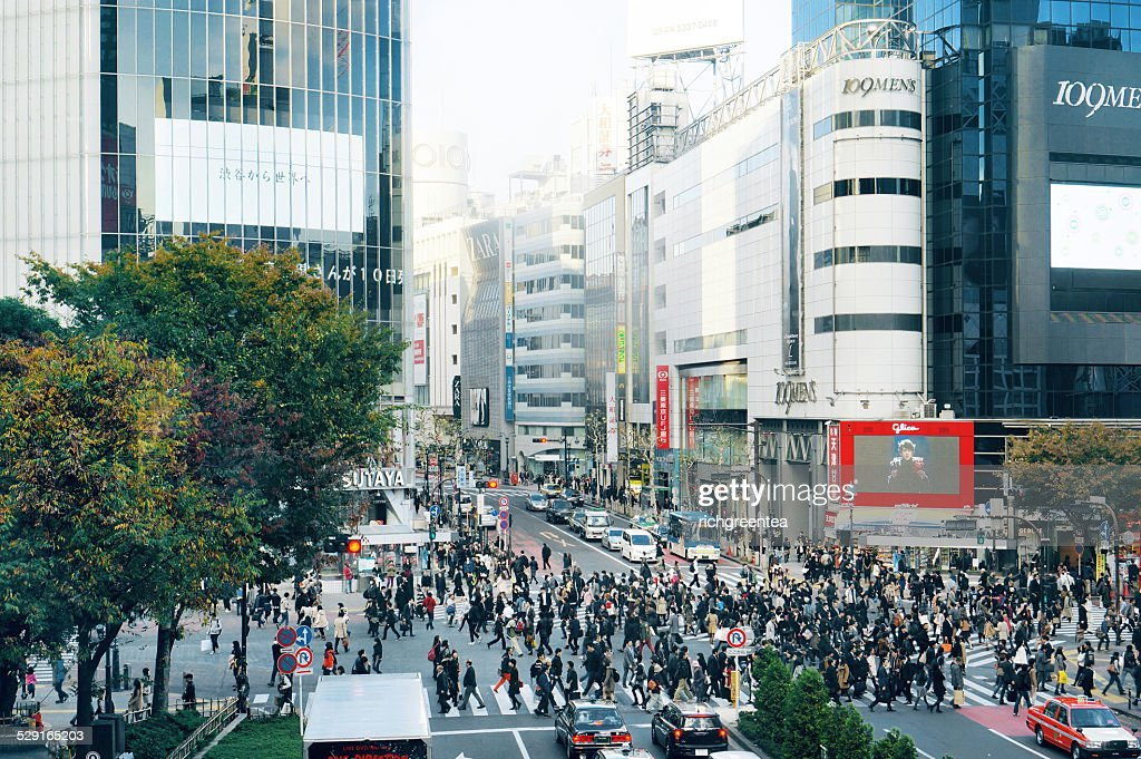 Tokyo Shibuya scramble crossing
