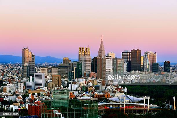 Tokyo, Shinjuku at sunrise