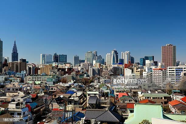 Tokyo Shinjuku cityscape