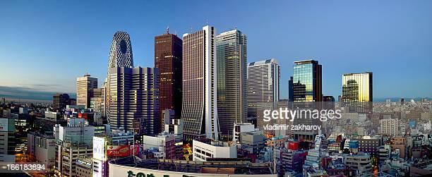 Tokyo Shinjuku  Panorama