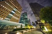 Tokyo Shiodome night view