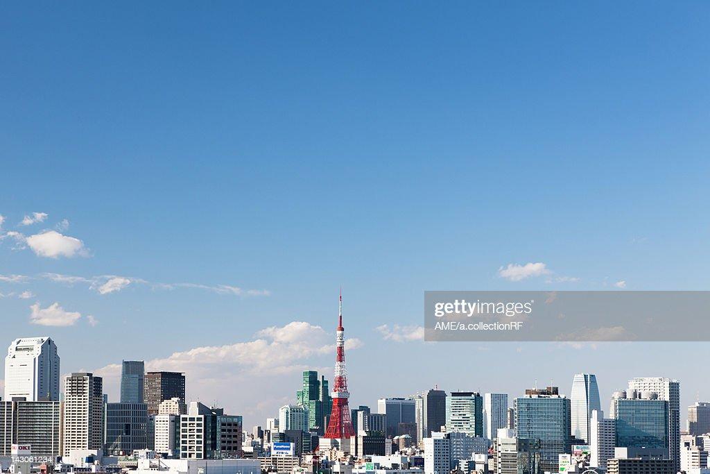 Tokyo Skyline : Stock Photo