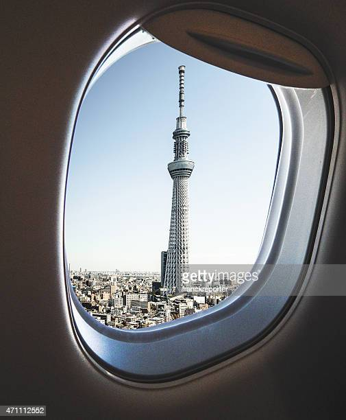 La ville de Tokyo et la tour de Tokyo sky tree