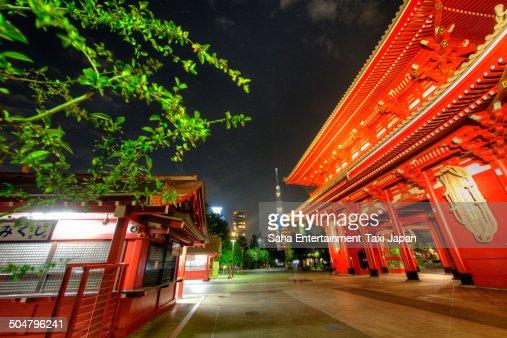 Tokyo Skytree and Asakusa temple