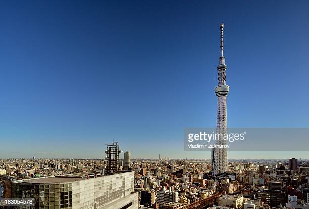Tokyo Skytree elevated view