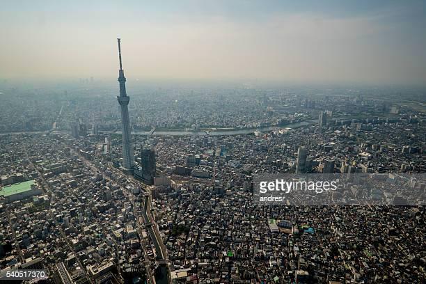 Tokyo skytree in Japan