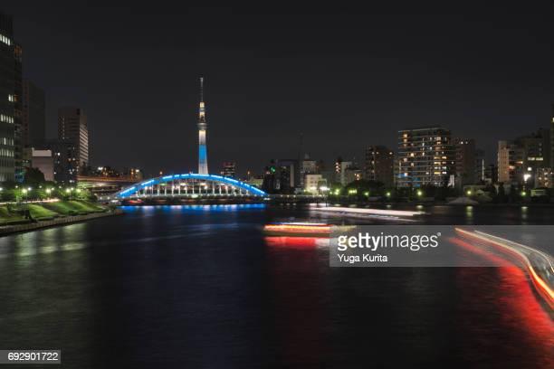 Tokyo Skytree over the Sumida River
