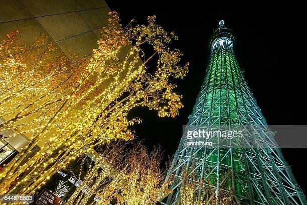 Tokyo Skytree Town Illumination