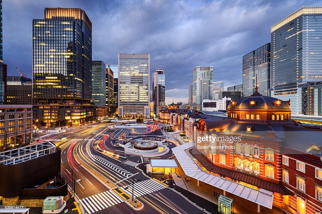 Tokyo Station Cityscape : Stock Photo